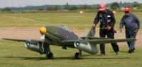 Name: Me 262 nose wheel - taxying.jpg