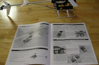 Assembly manual is easy to follow and features actual photographs in the assembly steps.