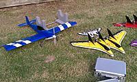 Name: mini-IMAG1647.jpg Views: 39 Size: 284.4 KB Description: Kirk of New Creations RC had some interesting planes.