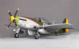 "FMS P-51D Mustang V7 Gunfighter 1450mm (57"") Wingspan - PNP"
