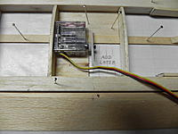 Name: DSCN1873.JPG Views: 4 Size: 685.9 KB Description: Servo will be glued into finished wing with arm attached. Servo must be at neutral position when mounted.