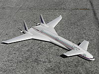 Name: DSCN0804.JPG Views: 3 Size: 477.1 KB Description: Boeing Sonic Liner has CG slightly to rear of center, flies mostly on rear wing and needs little if any incidence on canard.