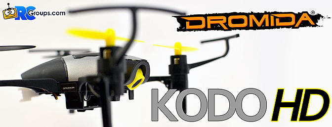 Dromida KodoHD - Unboxing Review