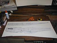 Name: Mustang 1a.jpg Views: 82 Size: 47.9 KB Description: Enlarged plans glued to cardboard templates.