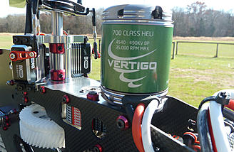 The Castle Vertigo motor provides exceptional power with electrical efficiency. The BK servos likewise offer premium speed and torque with the benefits of brushless motor technology.