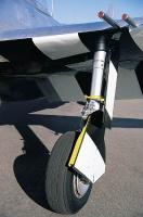 Name: P47N Landing gear real plane.jpg