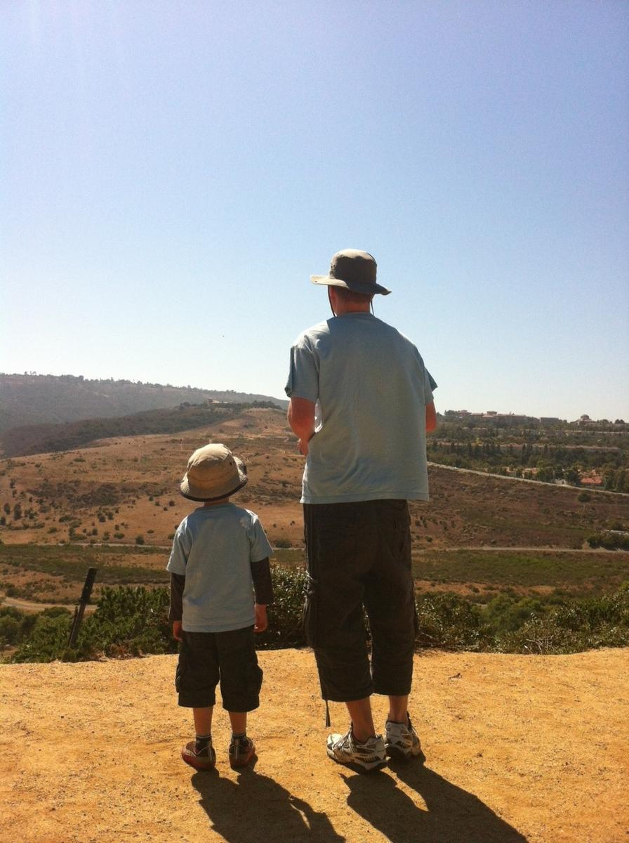 My 2012 father's day present was getting to go flying with my son at Lilly Shapell park in Laguna Niguel.
