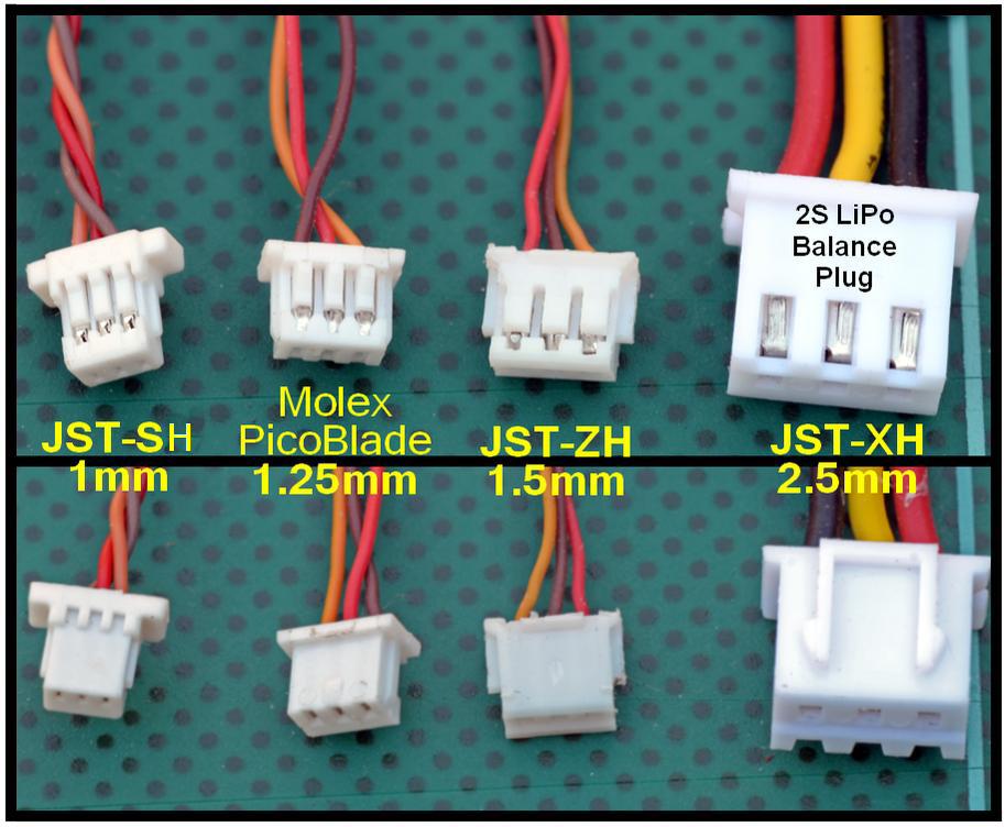Small Jst And Molex Connectors on hifonics wiring diagram