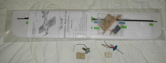 The kit, plus two cd-rom motors and laser cut mounts.