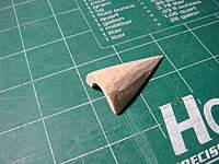 "Name: DSC00005.jpg Views: 64 Size: 85.2 KB Description: ""Hump"" end piece carved out of soft balsa."