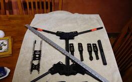 Thanksgiving Weekend Sale: Big, light quad frame (modified HK Predator 650)