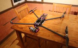 Thanksgiving Weekend Sale: BIG folding quad with NEX gimbal (Quaternium Spidex Pro )