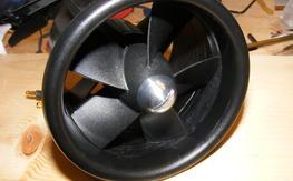 Dynamically balanced Dynam 70mm EDF motor fan unit