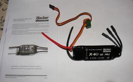 New Hacker X-40 SB Pro ESC