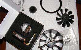 NIB HET 2W-25 and Changesun 70mm 10 Blade fan