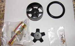 52mm and 56mm EDF motor combo