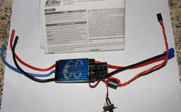 New Eflite 60 amp V2 ESC never used