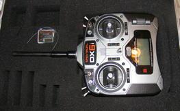 Spektrum DX6i, AR6000, and Spektrum case