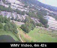 First Aerial Video flight with 5in1 eDVR. Lunchtime flying.