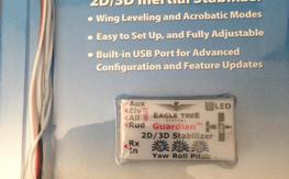 Eagle Tree Guardian 2d/3d/ inertial stabilizer