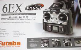 New Futaba 6EX 2.4 FASST transmitter