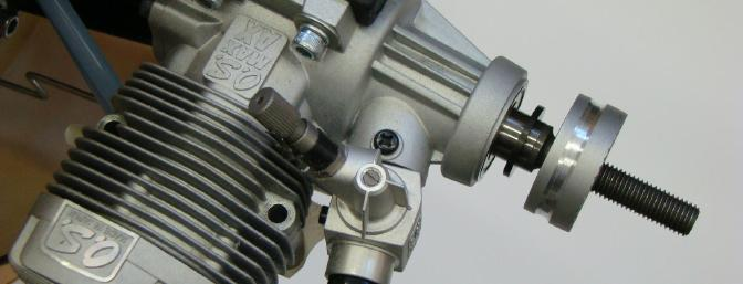 Thrust Washer and Drive Hub on the Engine