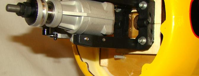 Note engine location and engine mount centering marks.