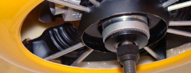 Insert Covering Opening in Dummy Crankcase