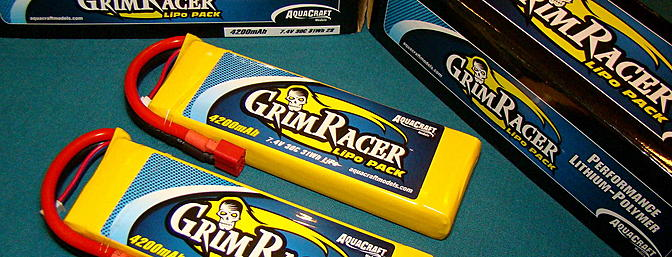 GrimRacer LiPo Battery Packs