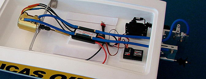 Water Cooled Brushless Motor and ESC