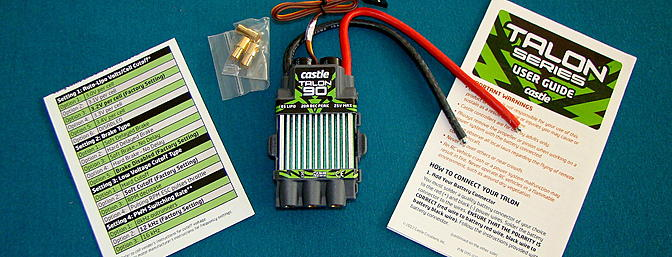 <b>Castle Creations Brushless ESC</b>