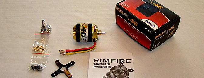 <b>RimFire .46 Brushless Motor</b>