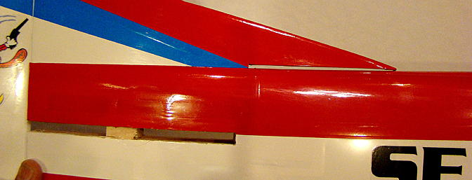 <b>Vertical stab to fuselage gap</b>