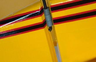 Rudder gap