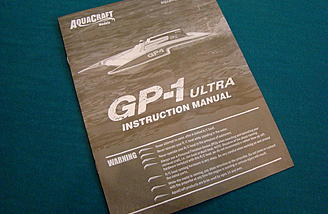 8-Page Instruction Manual