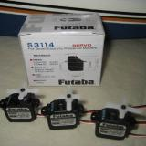 The recommended Futaba servos are fast with lots of torque.