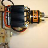 ESC on 121mm length mount