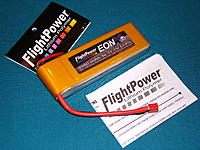 FlightPower EON Series LiPoly Battery