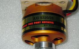 AXI Gold 5320/28 . KV: 249. Like New