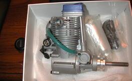 magnum XL-. 90 RFS 4 stroke nitro engine new in box