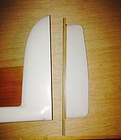Name: Rudder separated, and beginning of the rudder LE.jpg Views: 57 Size: 102.7 KB Description: