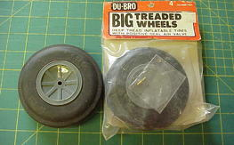 "Dubro 3"" wheels"