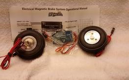 """Turnigy 2.5"""" Electric Brake set & controller"""