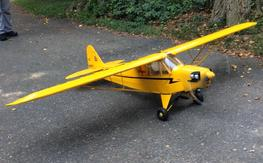 SIG 1/4 Scale J-3 Cub Set-UP for Glider Towing