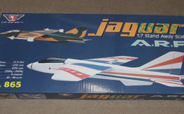 "New In Box 53"" Jaguar Fun Scale Prop Jet  ARF"