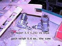 Name: DSCN0024 copy.jpg Views: 67 Size: 303.5 KB Description: Major 3.5  vs Enya  both weigh almost the same
