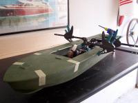 Name: pt boat07 (113).jpg Views: 484 Size: 64.6 KB Description: Deck glued on the hull