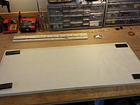 Name: 20140302_113450.jpg Views: 106 Size: 410.5 KB Description: Setting up my build table with parchment paper.  PP is much better than wax paper