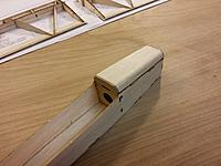 Name: 20140303_200456.jpg Views: 94 Size: 462.9 KB Description: Step 29  canopy sanded to match the contour of the fuselage