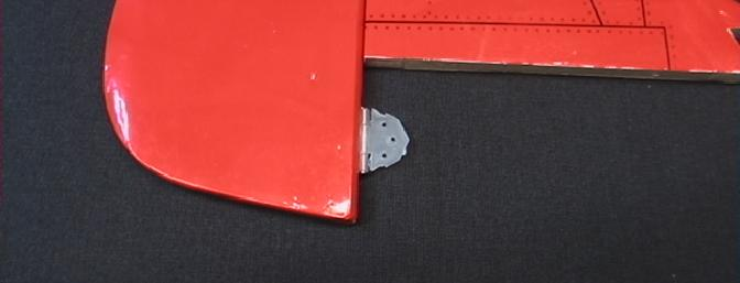 The lower rudder hinge